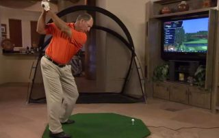 Golf trong nha – Optishot Golf 1