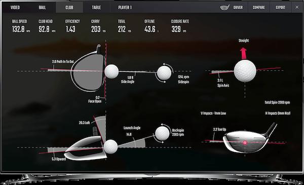 golf 3d 1 club data