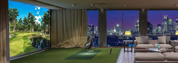 phòng golf cao cấp