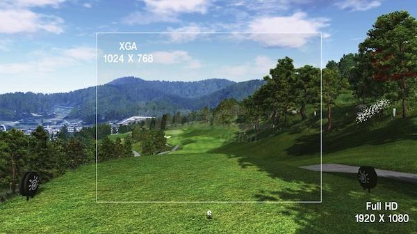 impact vision golf 9
