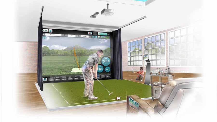 golf trong nhà mevo 1