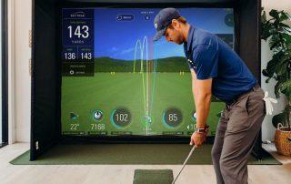 golf trong nhà skytrak1