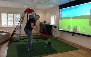 golf trong nhà skytrak4
