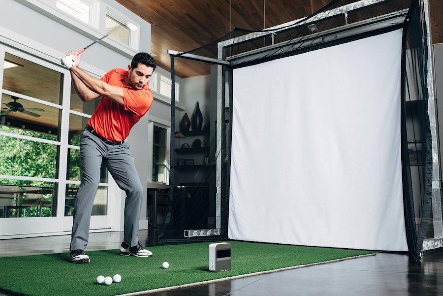 golf trong nha skytrak