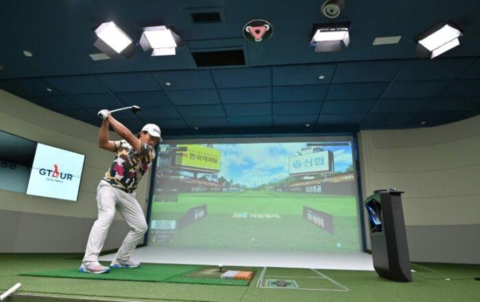 screen golf là gì
