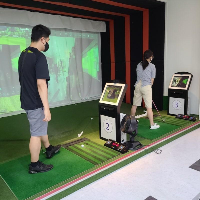 Chơi golf kiểu mới