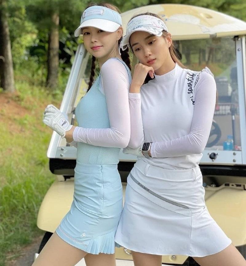 Người nghèo chơi golf ở Hàn Quốc